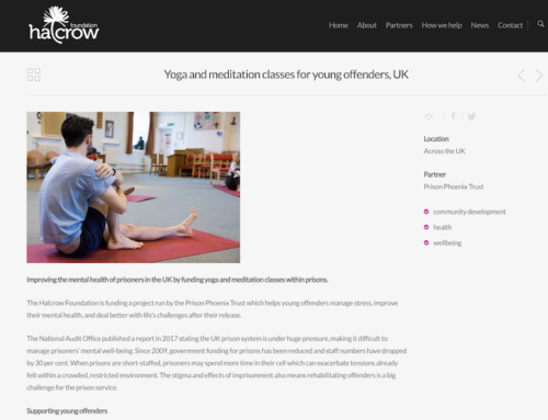 Case study, Halcrow Foundation