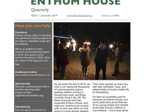 Newsletter, Enthum House