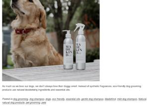 MadeKind blog pet cleaning
