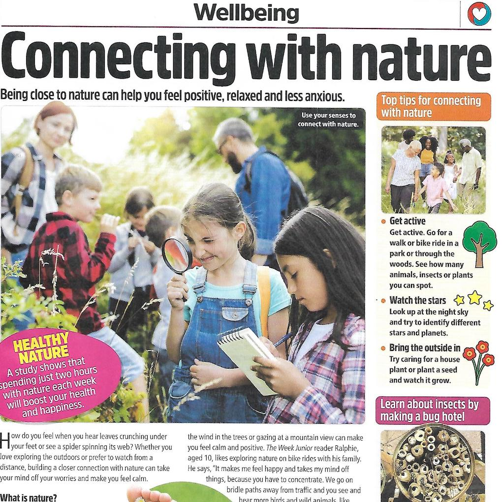 The Week Junior wellbeing feature about nature