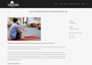 Halcrow Foundation case study