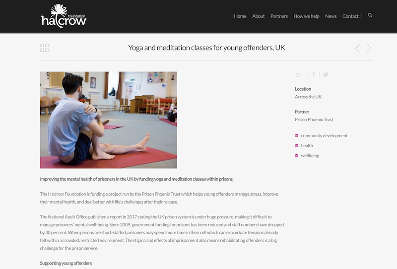 Halcrow Foundation case study