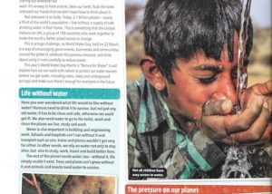 The Week Junior water feature